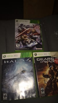 three Xbox 360 game cases South Bend, 46615