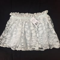 Kardashian kids light icy blue lace skirt size 24m-new with tags Mississauga, L5M 0C5