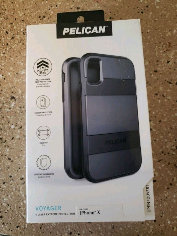 brand new 15cc6 63ab7 Pelican Voyager iPhone x case