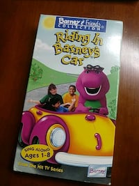 Barney's Riding in Barney's car vhs