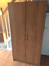 Brown wooden 2-door cabinet La Plata, 20646