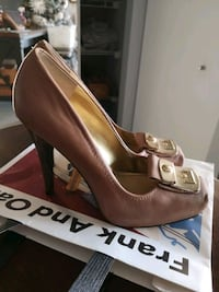 Nude nine West shoes