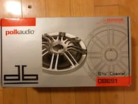 """NEW Polk 6.5"""" coaxial for car Milpitas, 95035"""