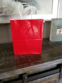 Red Glossy Gift/Craft Bags Novi, 48375