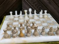 white and brown chess board set Staten Island, 10306
