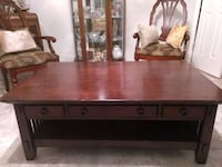 American Signature solid wood coffee table Deltona, 32725