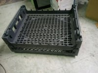 Two Plastic Flat Storage Crates for Sale. Norfolk, 23503