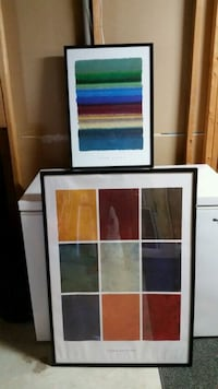 Abstract art. Two Pieces Oakville, L6J 6R5