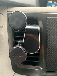Magnetic cell phone mounts
