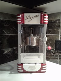 Nostalgia vintage movie theater popcorn maker RICHMOND