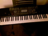 black and white electronic keyboard Olympia, 98501