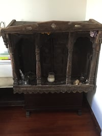hand carved Indonesian chest/ altar LOSANGELES