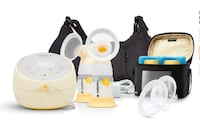 Medela Sonata Double Electric Breast Pump NOW with PersonalFit Flex Breast Shields Burnaby