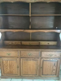 brown wooden dresser with mirror Lake Elsinore, 92530