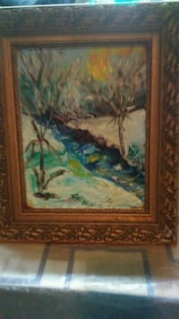 Oil painting by Swanie Chicago, 60621