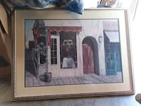brown wooden framed painting of people Citrus Heights, 95610