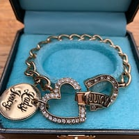 Juicy Couture Love, Luck & Couture bracelet Vancouver, V6E 1W1
