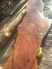 Custom built madrone,bar/table includes.install 2375 mi