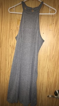 women's gray sleeveless midi dress Winnipeg, R2R 0G8