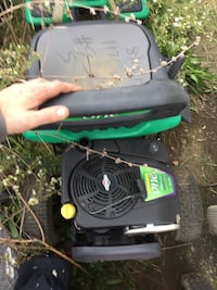 Rural King Air Compressor >> Used green and black push mower for sale in Winston-Salem - letgo