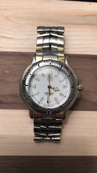 18k/ss Tag Heuer 6000 wh1151-k1 Oakland, 07436