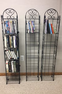 3 DVD OR CD stands (or paperback books or children books) Smithtown, 11787