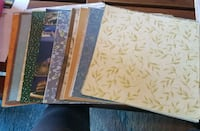 93 pages of scrapbooking paper (sold together o Saskatoon, S7M 5W2