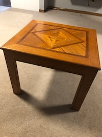 Small wooden side table Toronto, M9L 1C2