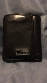 Black, leather, tri-fold, mens wallet Woodbridge, 22192