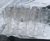 15 Hard Plastic Wine Glasses  Delaware County, 19026