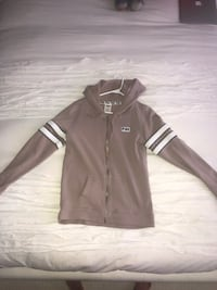 black and white Adidas zip-up jacket Vaughan, L6A 0L1