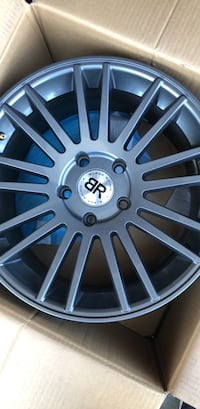 "250 for set brand new BLACK RHINO®   Gunmetal (18"" x 8.5"", +30 Offset, 5x127 Bolt Pattern, 71.6mm Hub)  Anaheim"