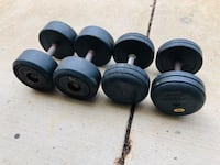 Dumbbells - Weights - Work Out - Gym Equipment Woodridge