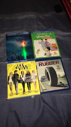 four assorted DVd's