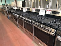 Stainless Gas stoves10% off Reisterstown, 21136
