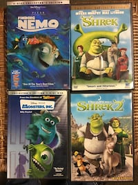 Four assorted DVD's New York, 10312