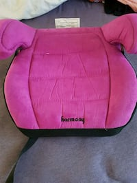 pink and black Harmony booster seat Edmonton, T5T 2T2