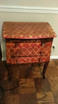 Hand Painted Side or Accent wood Table Arlington, 22201