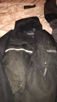 black and gray zip-up jacket Sherwood Park, T8H 1K1
