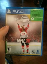 NHL 16 PS4 game case Barrie, L4M 5C4