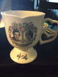 1981 Royal Wedding mug Princess Diana and Prince C St. Catharines