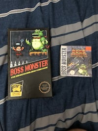 Boss Monster Card Game. Opened but never played. Comes with first expansion.  Albuquerque, 87110
