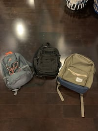 All 3 bags for $60 or $40 for the Hershell and $10 each other one Leesburg, 20175