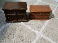 2 jewelry boxes Hanahan, 29410