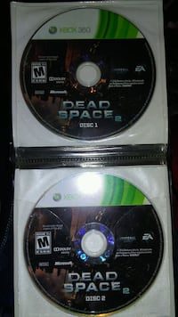 two Xbox 360 game discs Vancouver, V6B 0G6