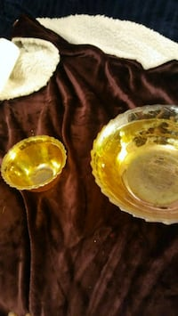 two round carnival glass bowls St. Cloud, 56303