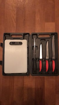filet knives, sharpener, and cutting board Melbourne, 32935