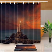 lighthouse shower curtain.serious buyers only. price is firm. Saratoga Springs