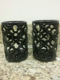 Pair candle holder
