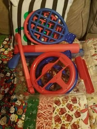 toddler's multicolored plastic toy 608 mi